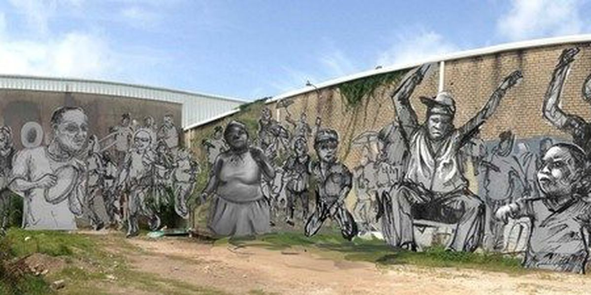 Second Line Mural Project