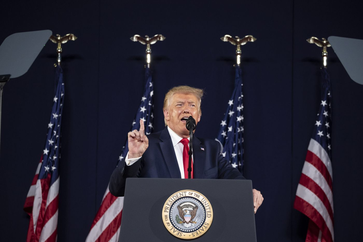 As much of U.S. dials back July 4 plans, Trump goes big