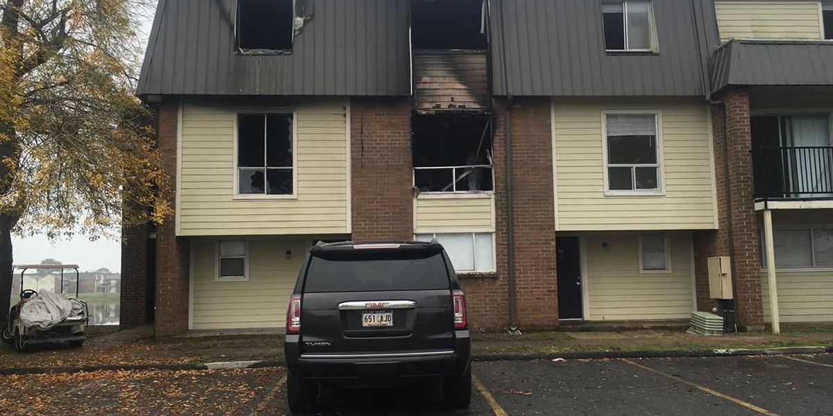 Mother and child among those displaced by apartment fire