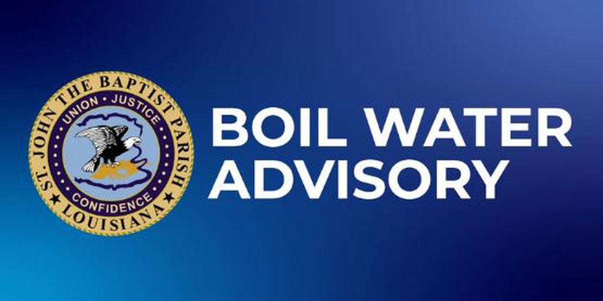 Bayou Teche Water Works Issues Boil Water Advisory