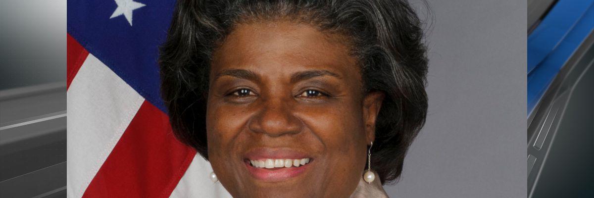 President-elect Joe Biden officially names Baker native, Linda Thomas-Greenfield, as UN ambassador