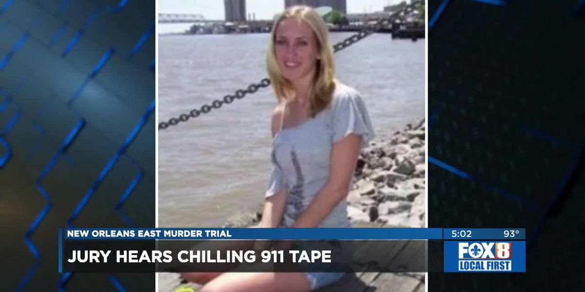 Jury hears chilling 911 tape of Des Allemands woman's call before being murdered