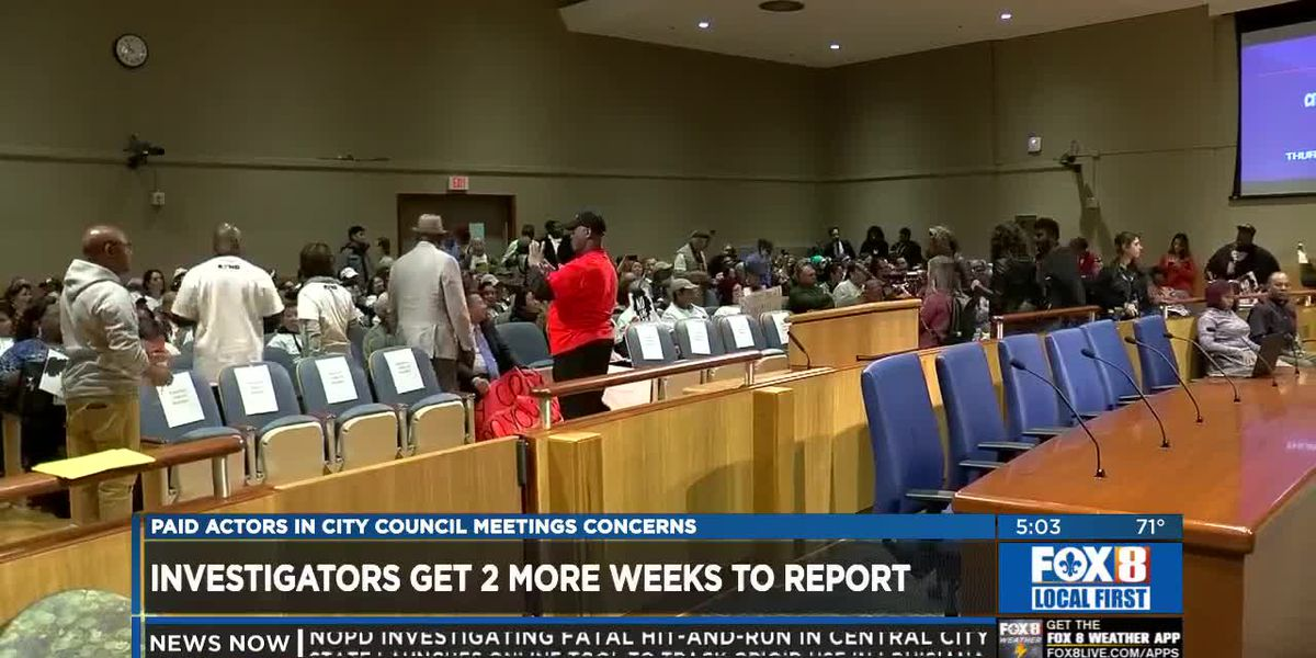 Council grants investigators more time to look into Entergy paid actor claims