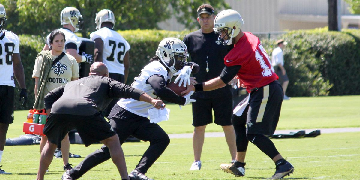 Saints running back competition gets tougher by the day