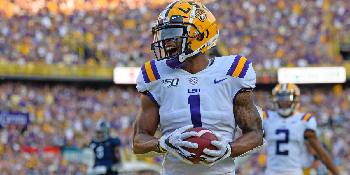 LSU WR Ja'Marr Chase officially declares for 2021 NFL Draft