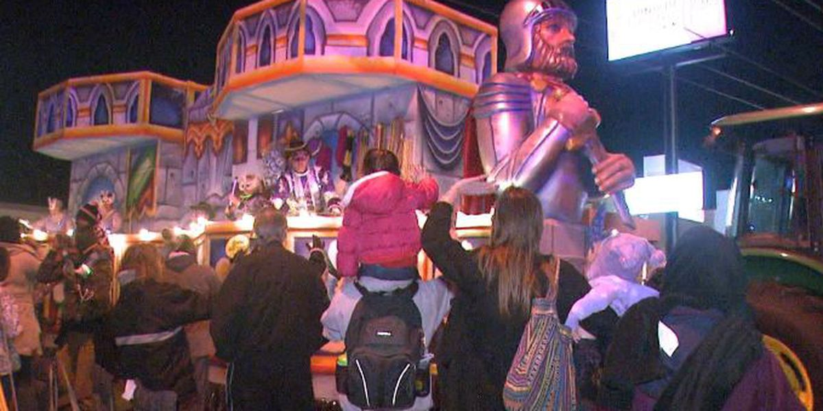 Metairie parades, Family Gras scheduled adjusted due to weather