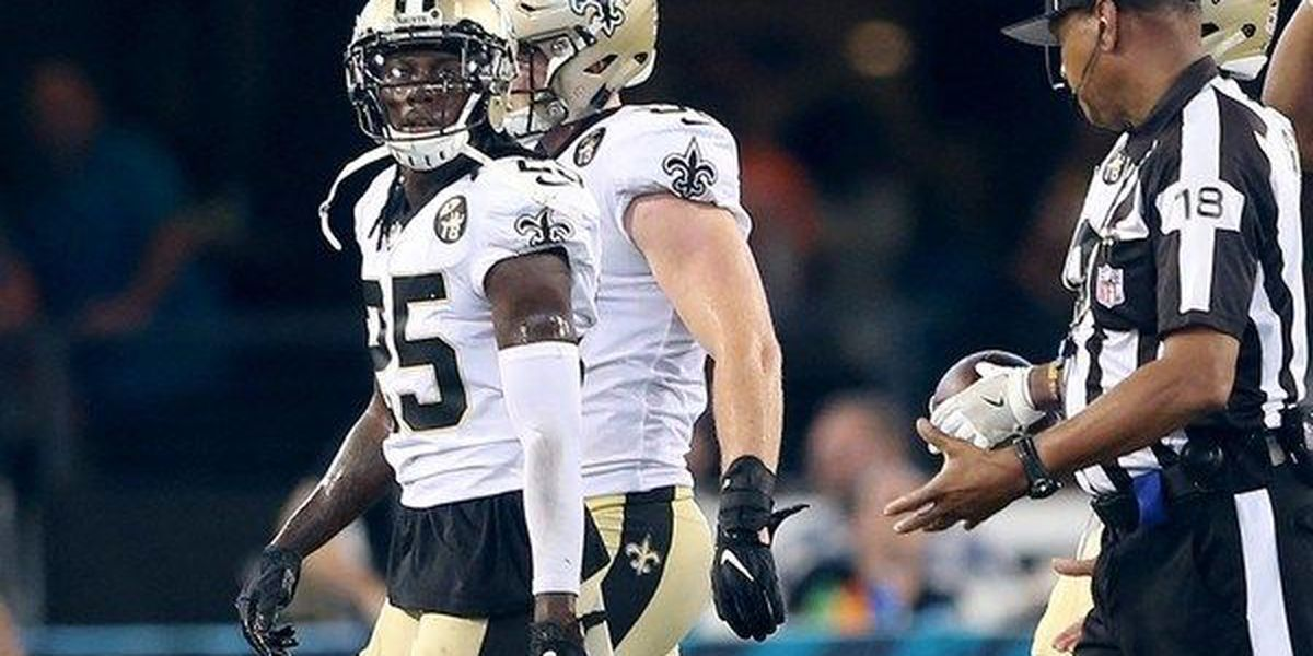 Saints cut cornerback De'Vante Harris