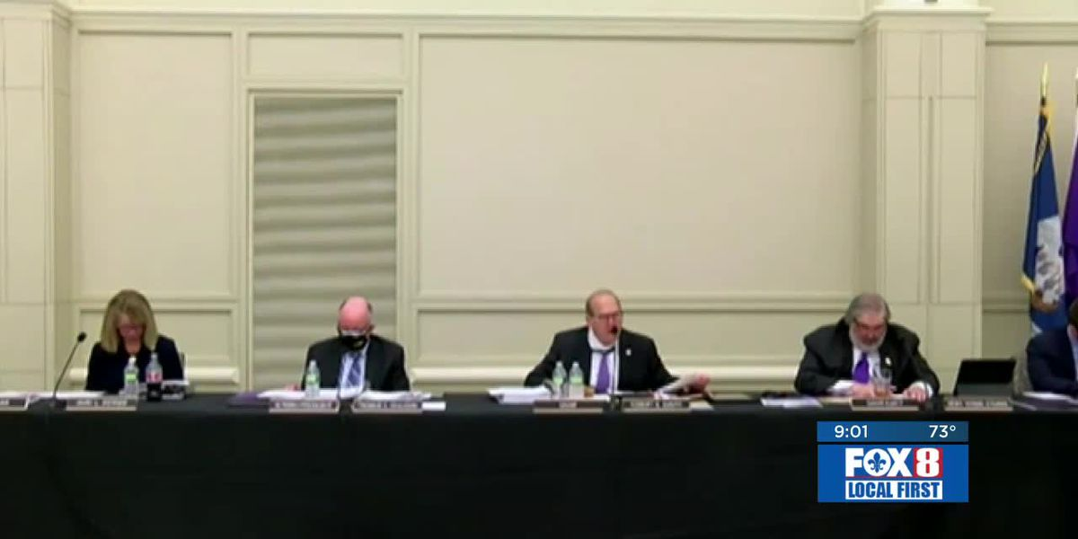 LSU Board hearing