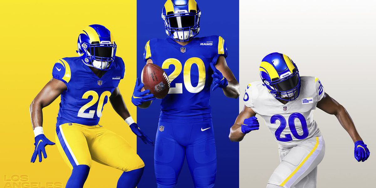 Rams unveil new uniforms with classic colors, modern twists