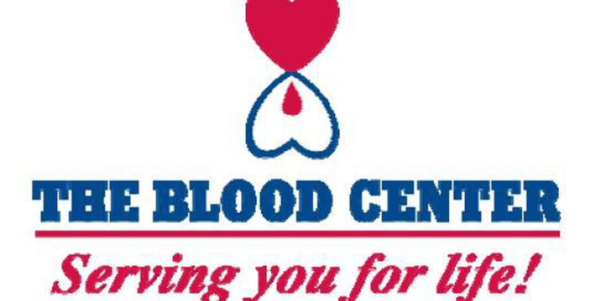 Blood Center desperately needs donations
