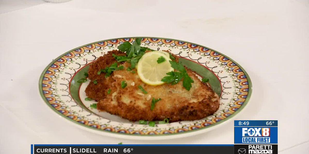 Chef Folse: Pork Schnitzel