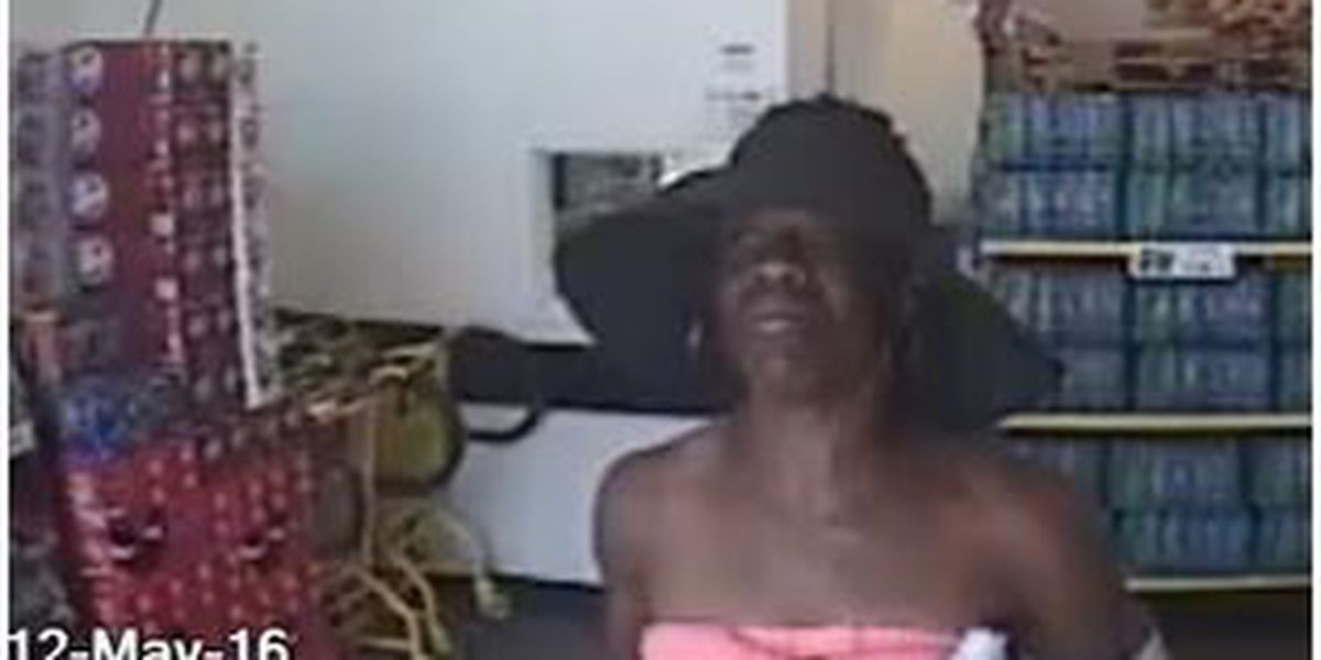 Police: Woman stole sheets, shower curtain from store