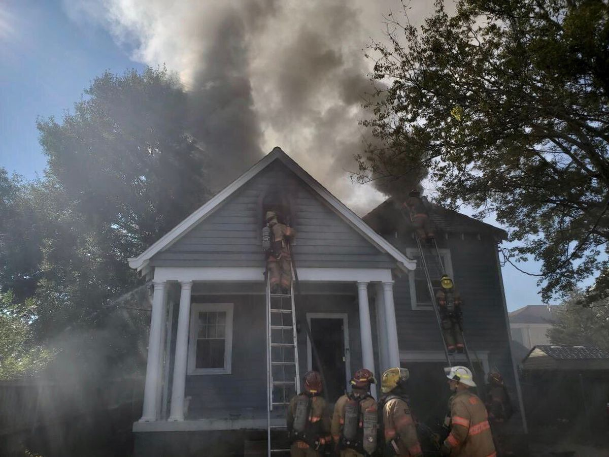 NOFD battles two alarm fire in Broadmoor