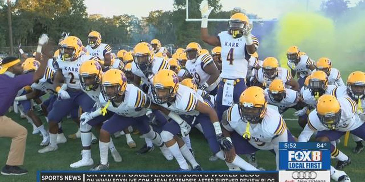 Karr gearing up for a road back to the state championship game
