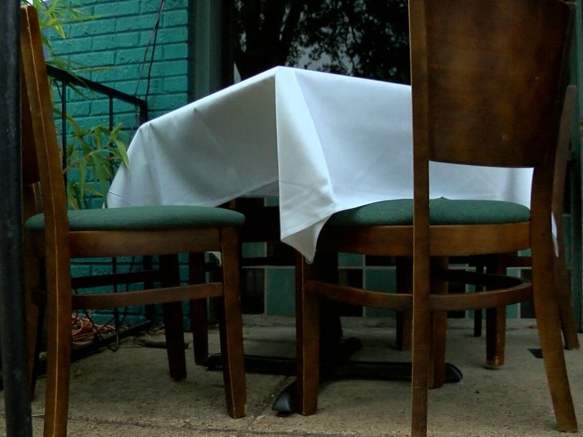 El gobierno de la ciudad de Nueva Orleans amplía las opciones de asientos al aire libre hasta finales de 2020