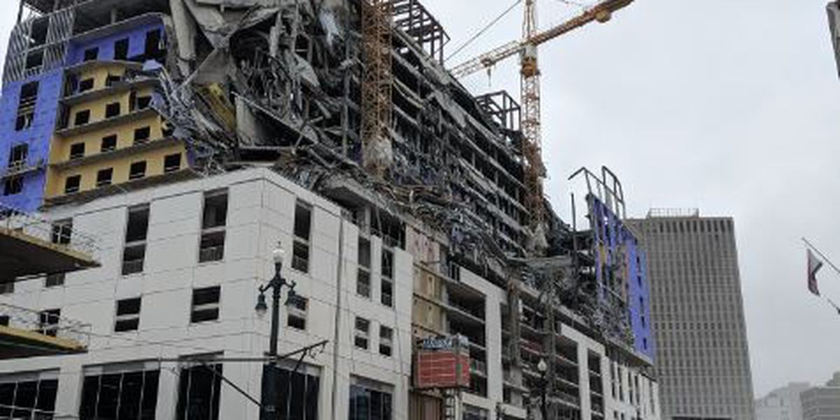 OSHA and NOPD begin investigation into Hard Rock Hotel collapse