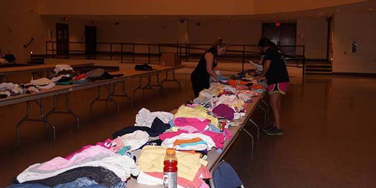 St. Bernard collecting donations for victims of flooding