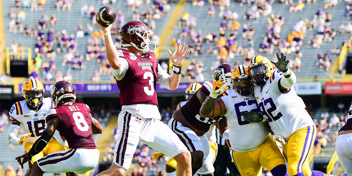 No. 6 LSU suffers upset loss to Miss. St. in season opener
