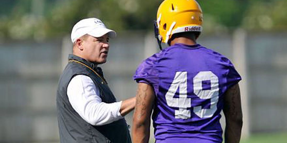 Les Miles taken to hospital after not feeling well