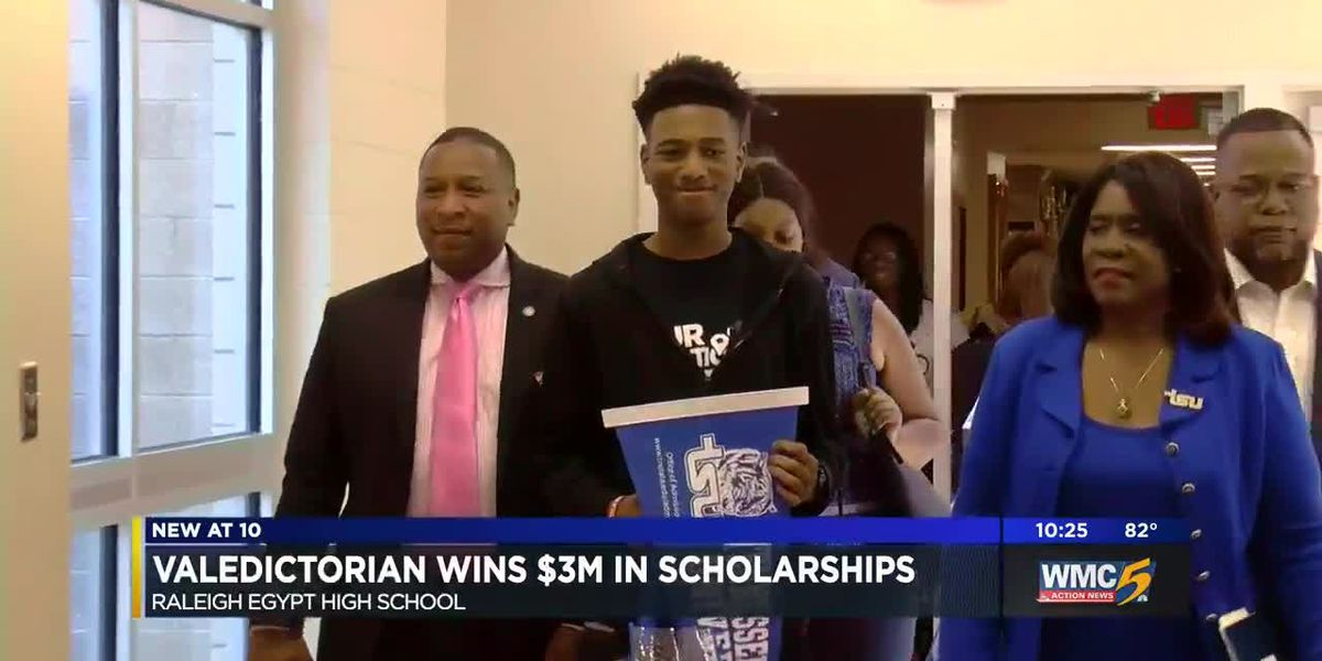 Memphis teen copes with homelessness; achieves valedictorian, $3M in scholarships