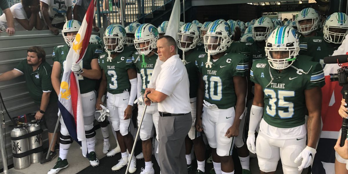 Tulane faces tough test on the road against No. 10 Auburn