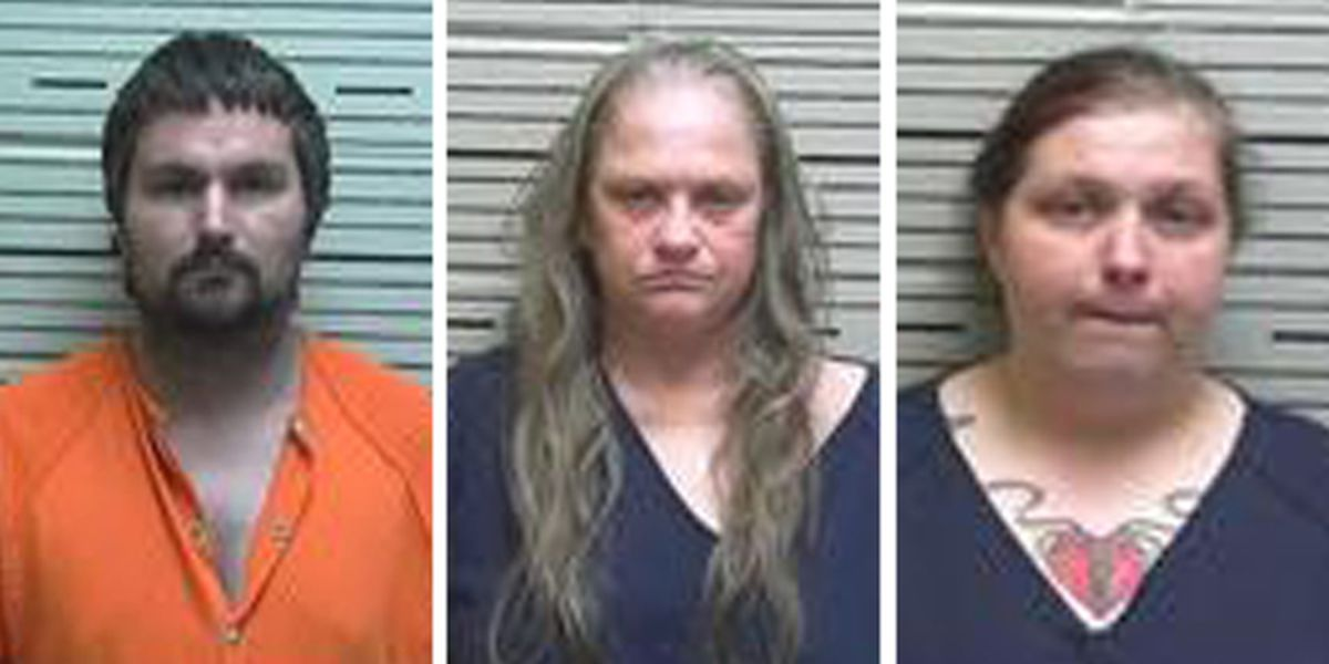 Child found chained, naked in central Alabama home; 3 arrested