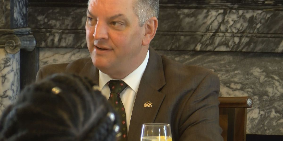 Governor Edwards weighs in on 'fetal heartbeat' bill