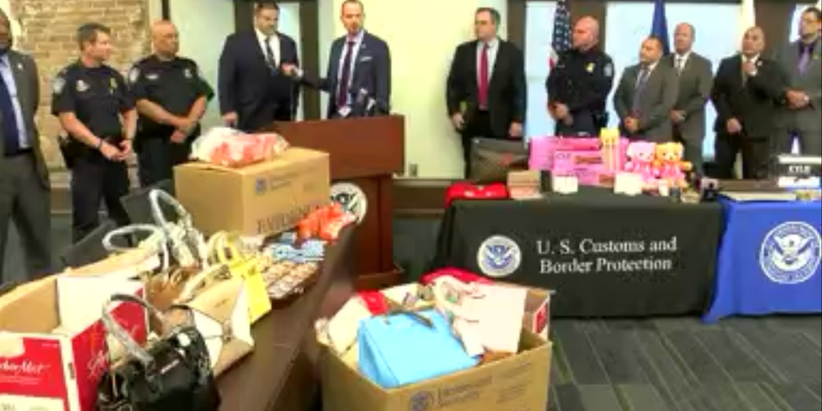 $8 million in counterfeit goods pulled off the streets in a month