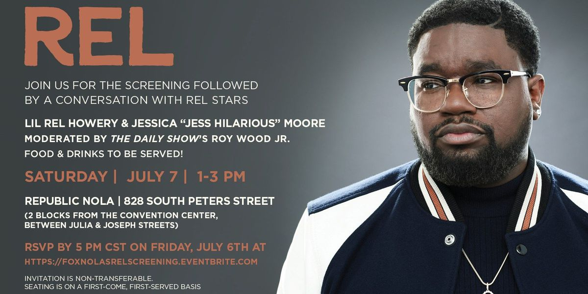 Advanced screening of new FOX show REL will air at ESSENCE Fest