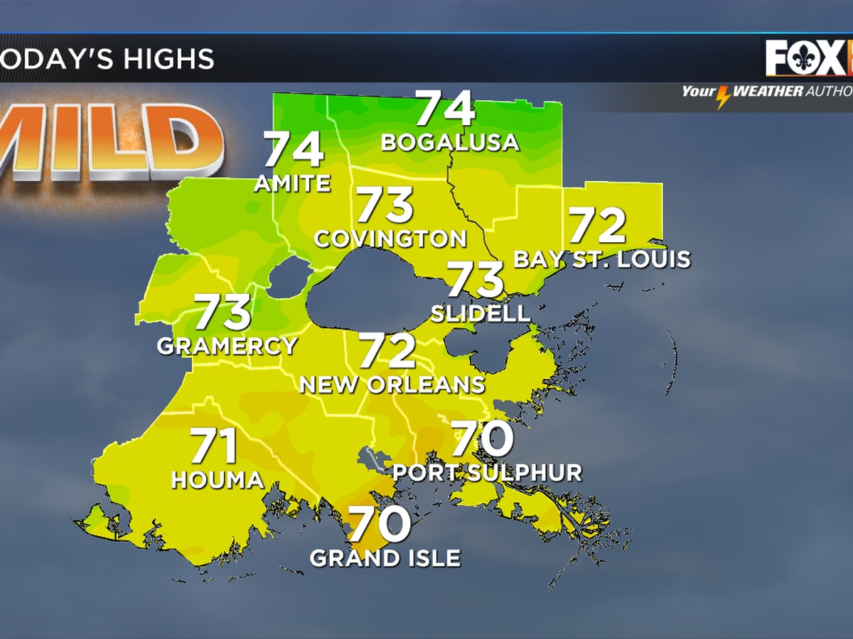 Zack: Passing Clouds, Comfy Temps Today