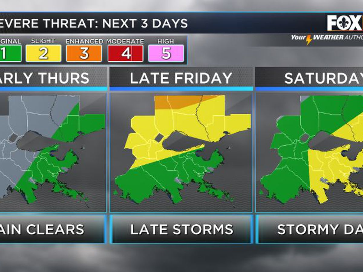 Shelby: Strong storms move out, warm & humid day ahead
