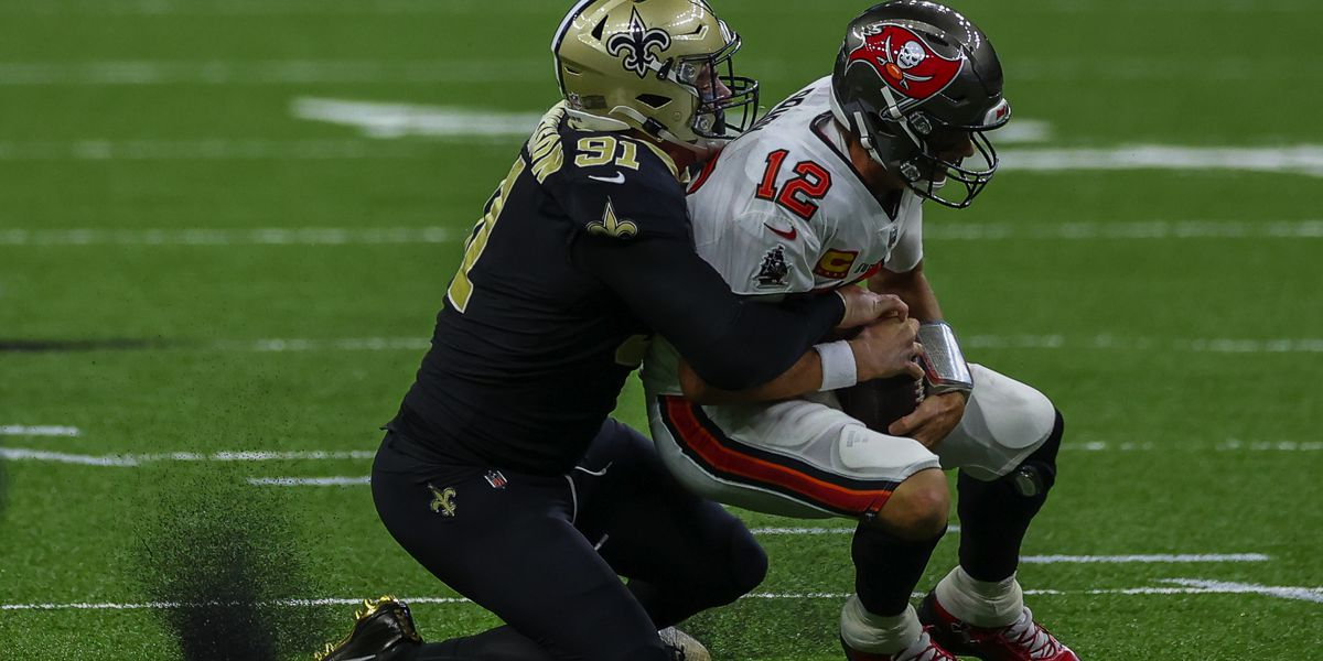 Saints DE Trey Hendrickson racking up sacks in 2020