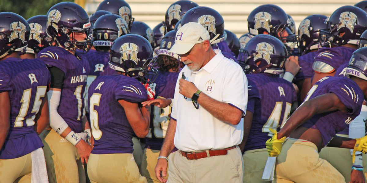 Nick Saltaformaggio returns to the Hahnville sideline Friday night