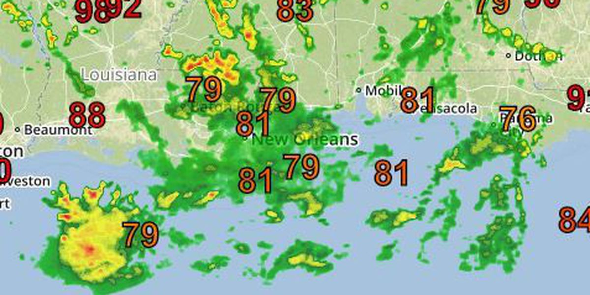 David: Periods of showers and storms to continue