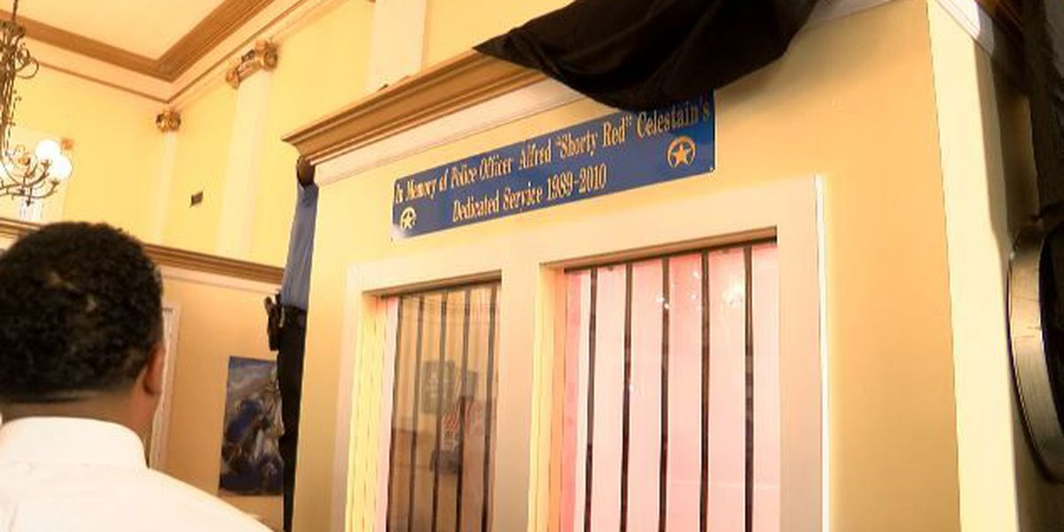 New holding cell in NOPD 8th district station honors fallen officer