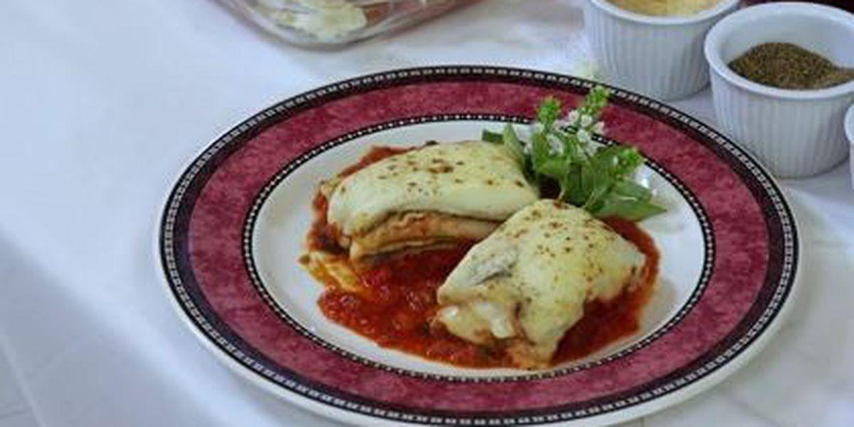 Chef John Folse: Grilled vegetable lasagna