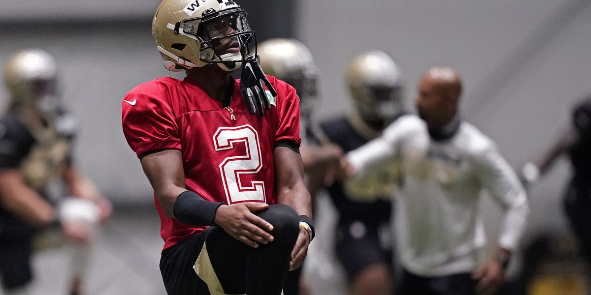 Saints quarterback Jameis Winston staying focused and making an impression