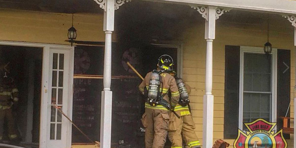 STPFD: Several people evacuated, two pets rescued from burning Mandeville home