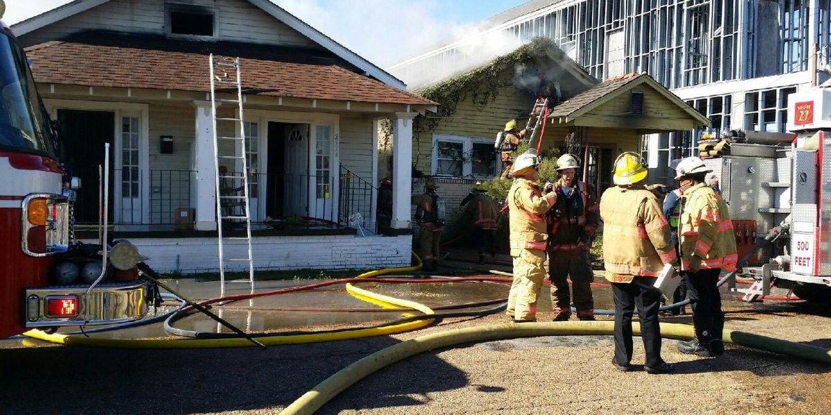 NOFD battles 3-alarm fire in the 7th ward