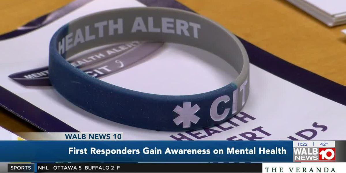 Moultrie first responders receive training on mental health