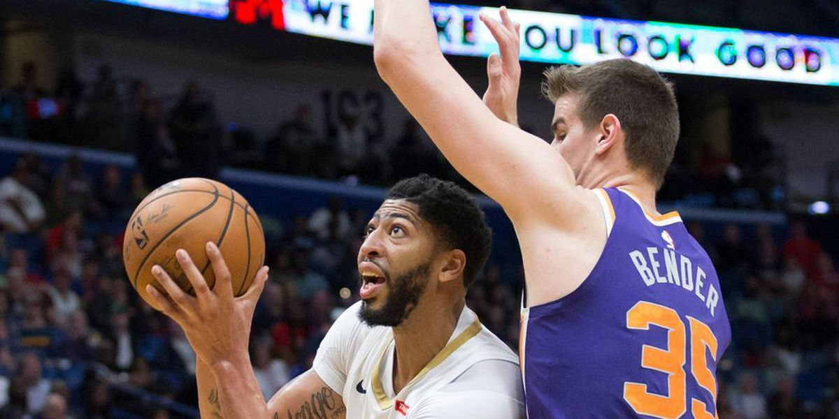 Pelicans block out the Suns, move up to 5th-seed in West