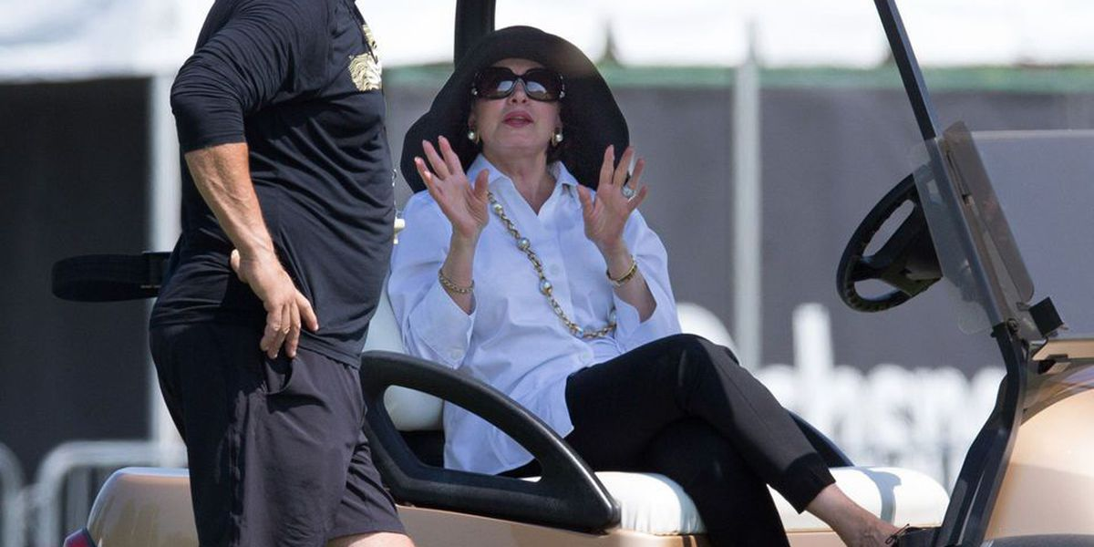 Gayle Benson has been 'fantastic' as owner of the Saints