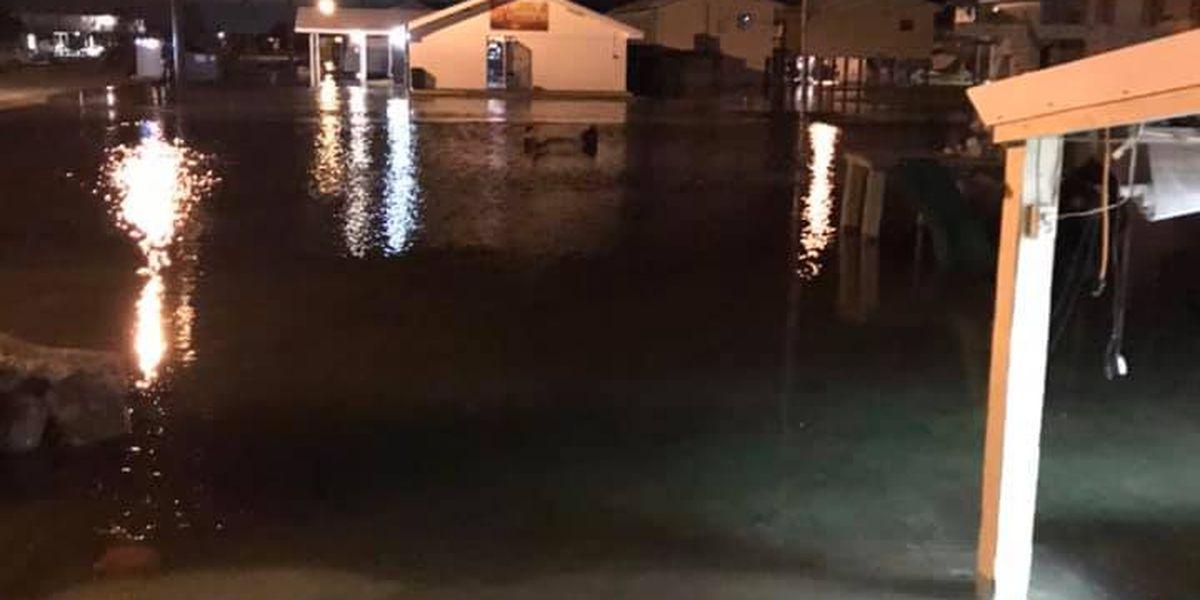 Grand Isle already feeling impact from tropical surge