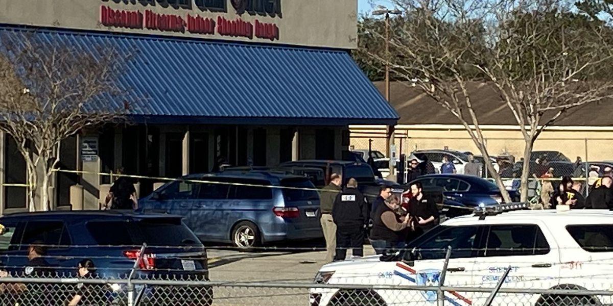 Coroner identifies three killed in shooting at Jefferson Gun Outlet