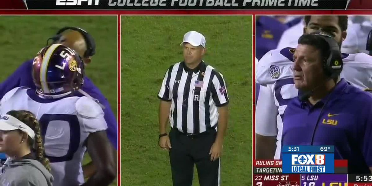 LSU head coach says team will move on from controversial penalty call