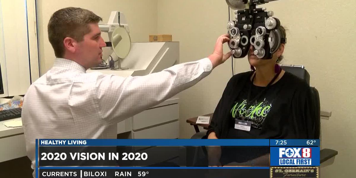 Eye Health Month -- see 20/20 in 2020