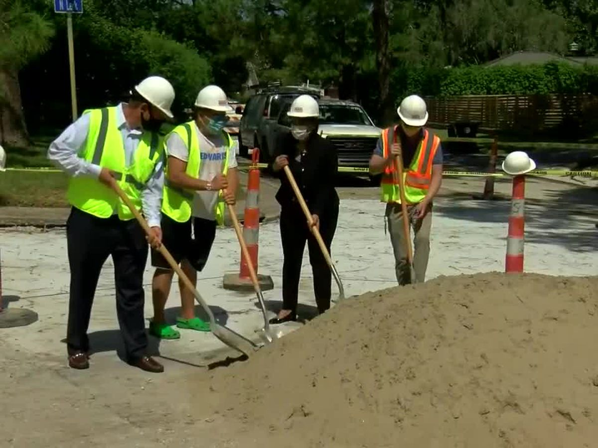 VIDEO: $2.8M Lake Vista road project will improve 15 blocks of neighborhood