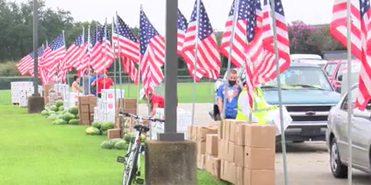 Feed The Multitudes 4th of July event offers drive-thru for hundreds in need