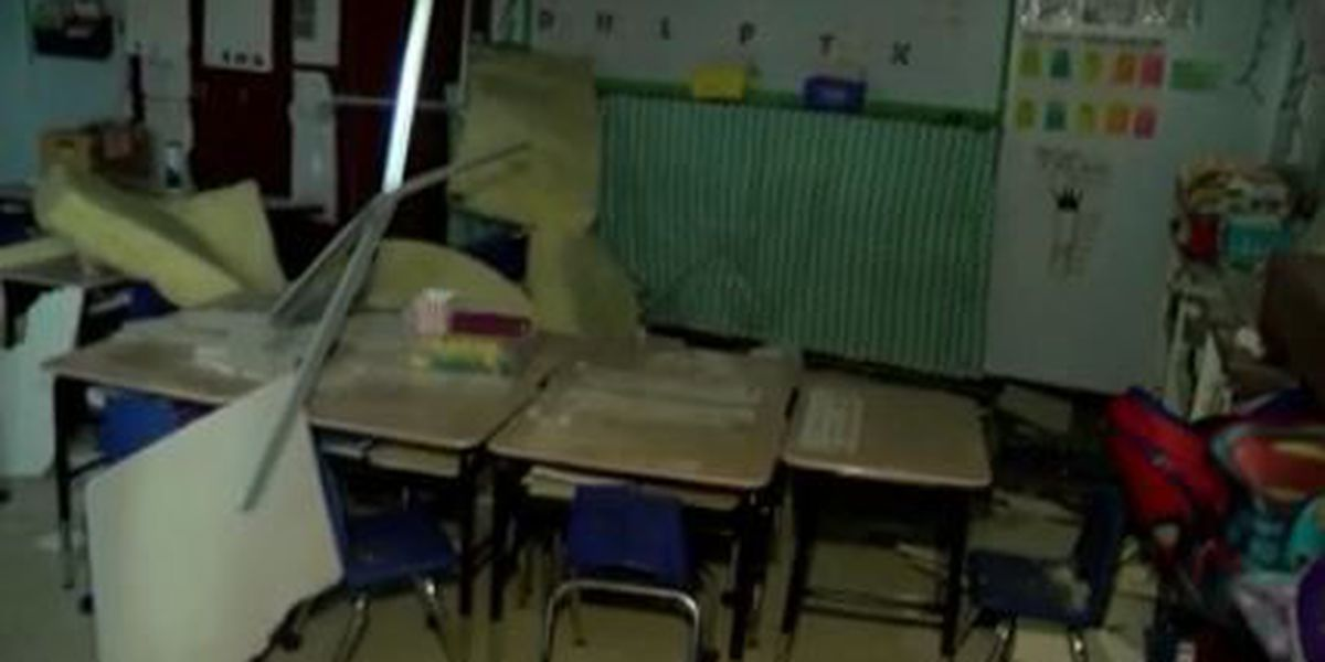 Tornado-ravaged elementary school forced to find new home