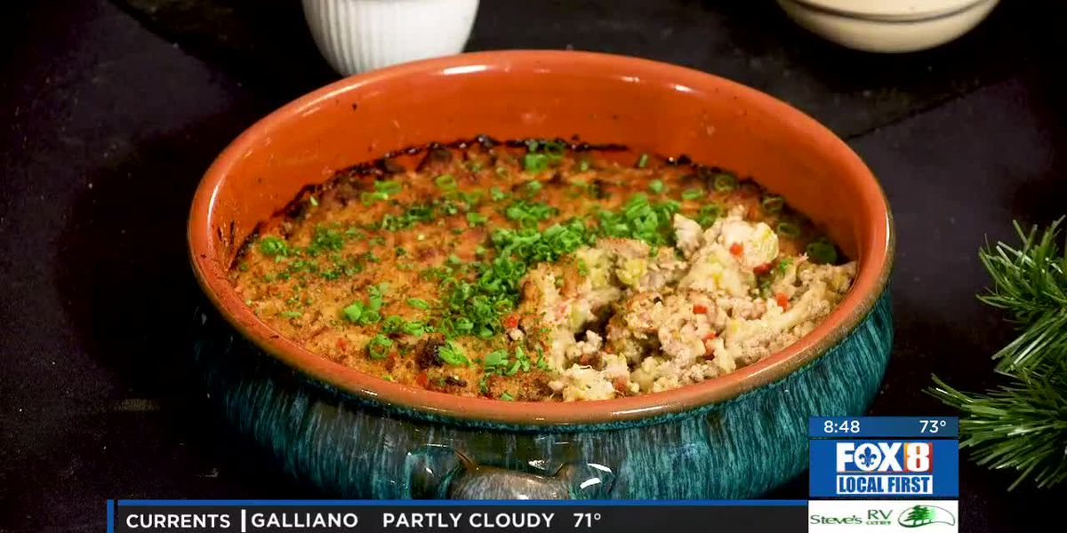 Chef Folse: Holiday Smothered Cabbage Casserole